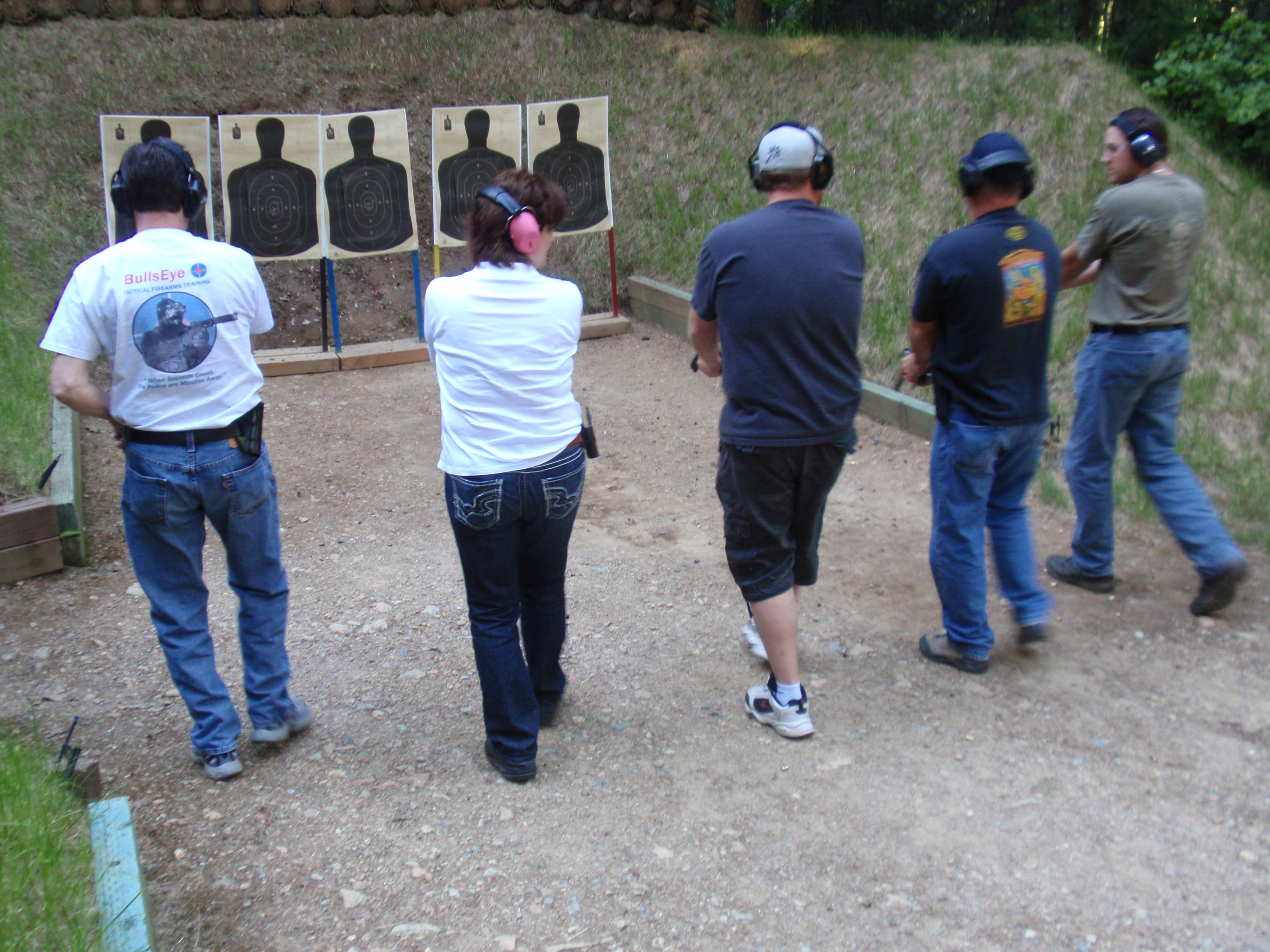 Redding California gun training firearm class