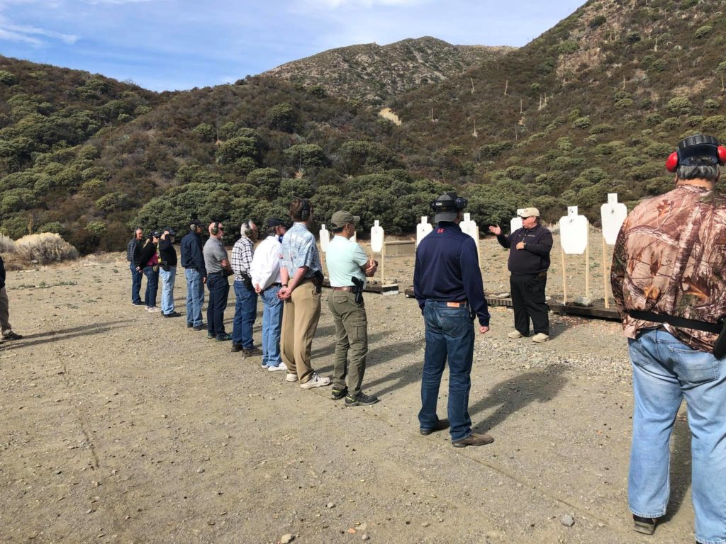 Inland Firearms Training Rancho Cucamonga California gun firearms training classes